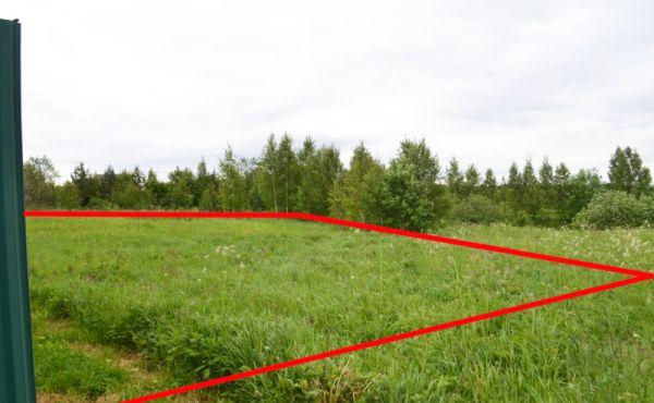 Земельный участок 15 соток в д.Муромцево, 98 км от МКАД